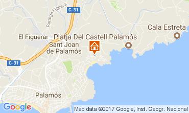 Map Palamós House 112312
