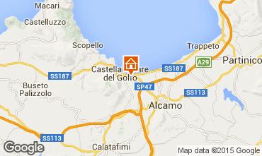 Map Castellammare del Golfo Villa 76275