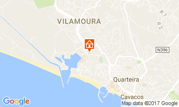 Map Vilamoura One-room apartment 109089