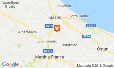 Map Locorotondo Apartment 115236