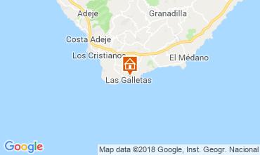 Map Costa del Silencio One-room apartment 117562
