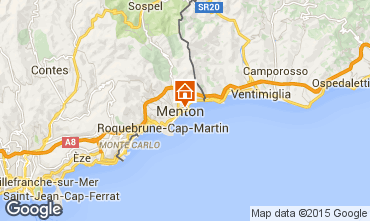Map Menton One-room apartment 26501