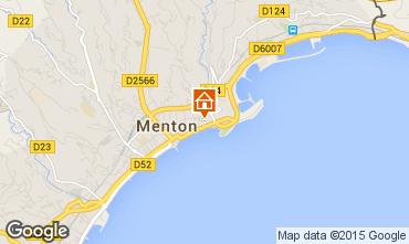 Map Menton One-room apartment 26501