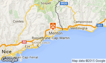 Map Menton Apartment 96725