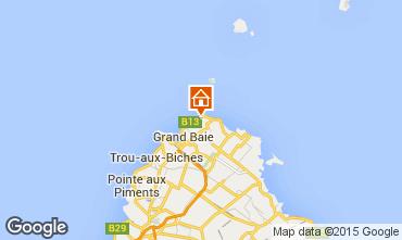 Map Grand Baie Apartment 58816
