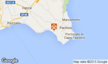 Map Pachino Apartment 76992