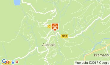 Map Aussois Apartment 111664
