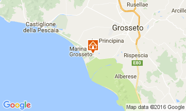 Map Principina a Mare Apartment 74532