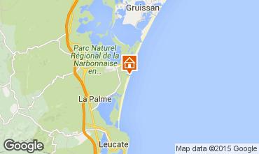 Map Port La Nouvelle Apartment 42409