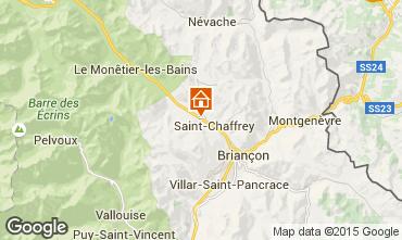 Map Serre Chevalier Apartment 2901
