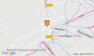 Map Saint François Longchamp Apartment 94959