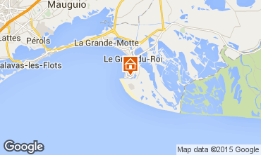 Map Le Grau du Roi Apartment 76846