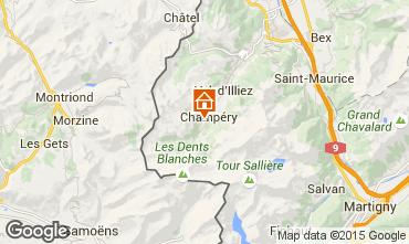 Map Champ�ry Chalet 4809