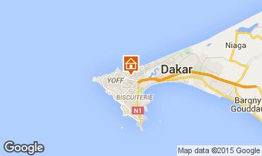 Map Dakar Apartment 81435
