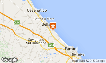 Map Bellaria Igea Marina Apartment 31420