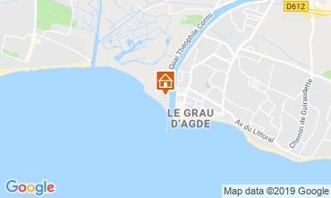 Map Agde Apartment 102284