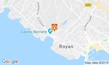 Map Royan Villa 61811