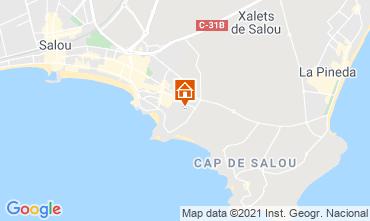 Map Salou Apartment 93569