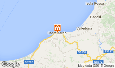 Map Castelsardo Apartment 83701
