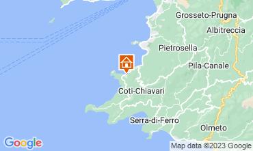 Map Coti Chiavari House 70546
