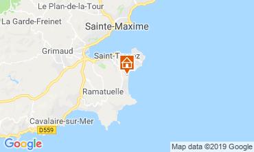 Map Saint Tropez Mobile home 71680