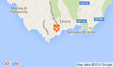 Map Castrignano del Capo Apartment 89210