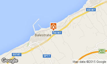 Map Balestrate Apartment 97142