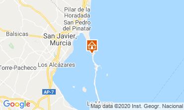 Map Murcia Apartment 107409