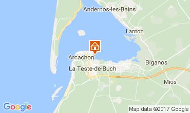 Map Arcachon Apartment 92451