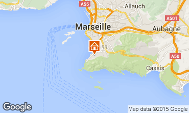 Map Marseille Apartment 18588