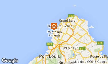 Map Pointe Aux Piments Apartment 48721
