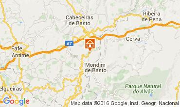Map Celorico de Basto Vacation rental 64269