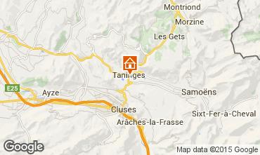 Map Samoëns Vacation rental 99943