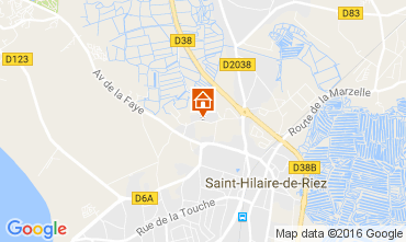 Map Saint Hilaire de Riez Mobile home 107395