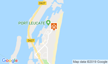 Map Port Leucate Apartment 104165