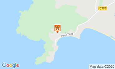 Map Porto Pollo Apartment 114070