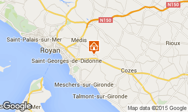 Map Royan House 84053