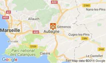 Map Aubagne One-room apartment 80411