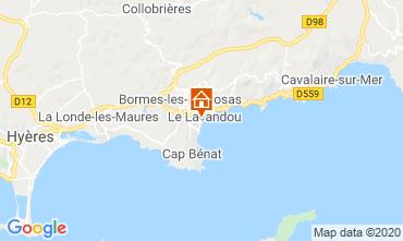 Map Le Lavandou One-room apartment 95543