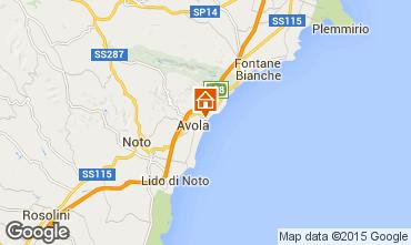 Map Avola Apartment 43259