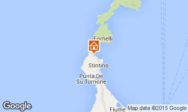 Map Stintino Villa 93268