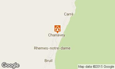 Map Rhémes-Notre-Dame Apartment 101792