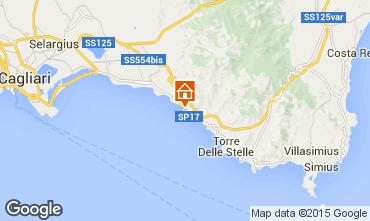 Map Quartu Sant'Elena Apartment 87785