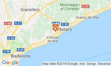 Map Barcelona Villa 116089