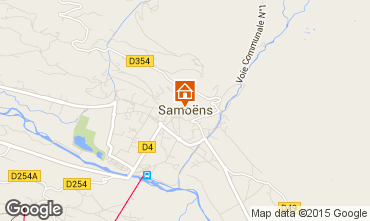 Map Samoëns Apartment 80128