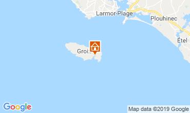 Map Locmaria - Ile de Groix Apartment 118617