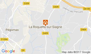 Map La Roquette-sur-Siagne Apartment 110753