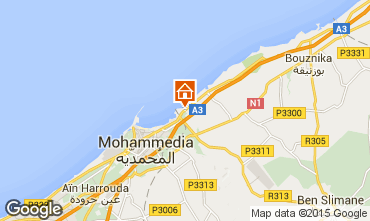 Map Mohammedia Apartment 66315