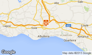 Map Albufeira House 61489