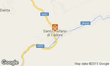 Map Santo Stefano di Cadore Apartment 80005